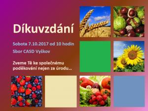 2017-10-07 Dikuvzdani